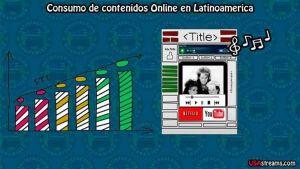 Consumo de contenidos online latinoamerica