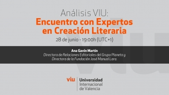 Encuentro con Expertos en Creación Literaria