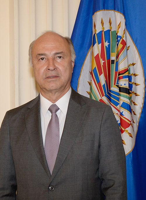 Foto de Don Enrique de Jesús Gil Botero, ex ministro de justicia de