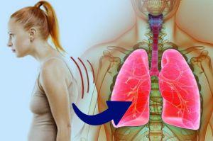 ¿Una mala postura puede afectar la capacidad pulmonar?