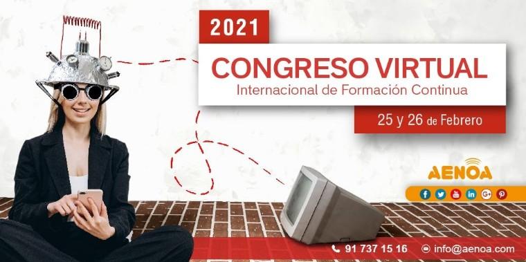 Foto de Congreso Virtual Internacional de Formación Continua Aenoa