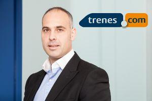 Pere Sallent, CEO de Trenes.com