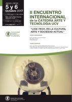 II Encuentro Internacional de la Cátedra de Arte y Tecnología